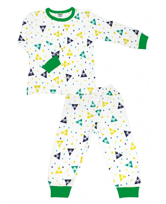 Tent Age Pajamas Set Green