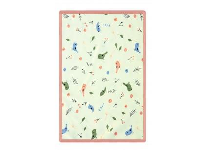 Bird pattern blanket