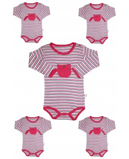 Ringel Fabric 5 piece Bodysuit