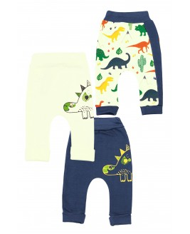 Big Dinosaur 3 Piece Trousers Navy