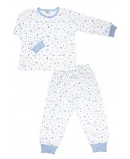 Star Age Pajamas Set Blue