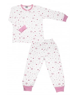 Starry Age Pajamas Set Pink