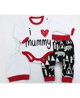 Mummy 3 Piece Set White