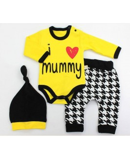 Mummy 3 Piece Set Yellow